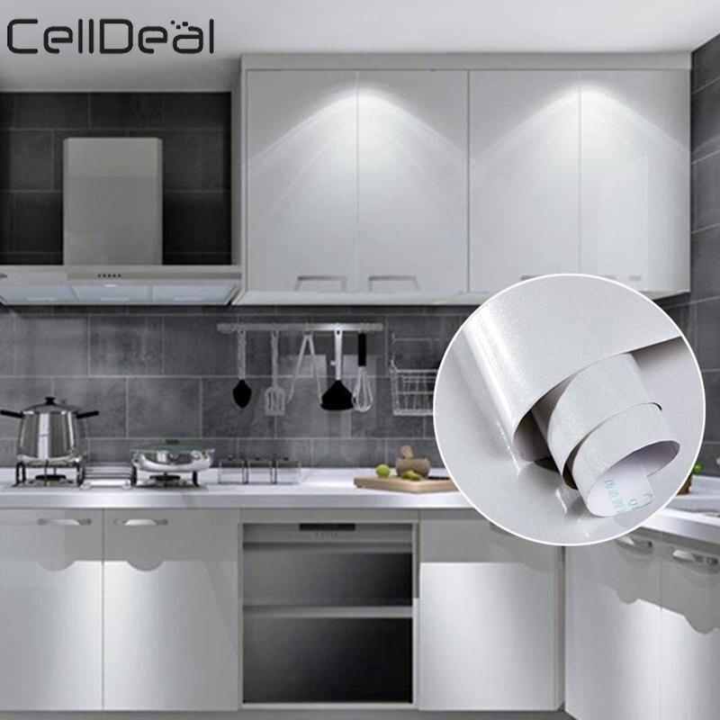 5/10 M paillettes Fablon papier peint cuisine placard meubles porte mur auto-adhésif décoration mur autocollant