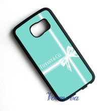 Tiffany and Co protection phone cover case for samsung galaxy S3 S4 S5 S6 S6 edge S7 S7 edge Note 5 Note 4 Note 3 #tn1055
