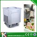 Нержавеющая сталь Одиночная плоская сковорода жареное мороженое машина