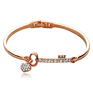 Accessories summer fashion female sweetheart exquisite crystal bracelet of love