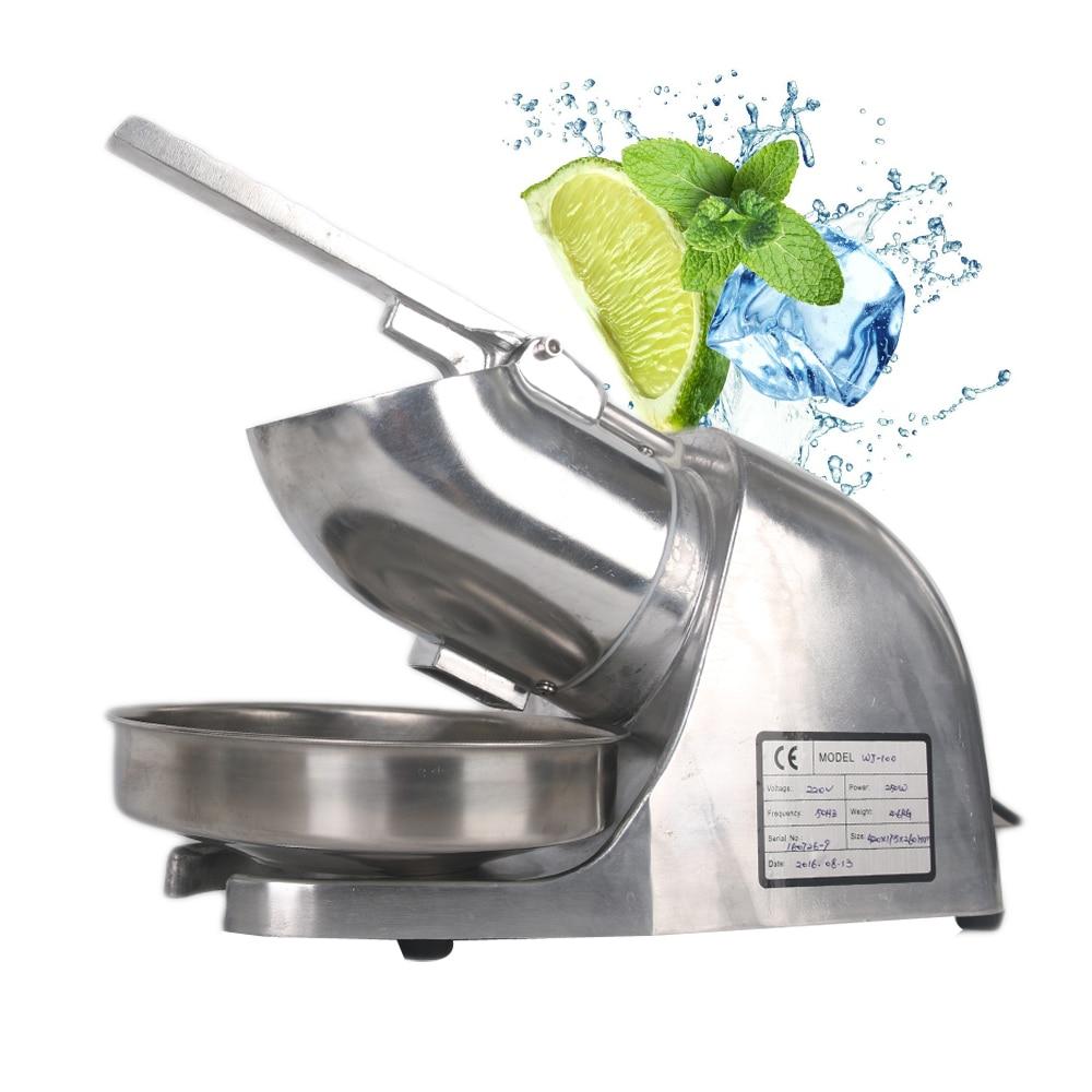 ITOP Commercial Ice Crushers Shavers Machine ice slush Smoothies maker For Tea Shop Restaurant EU/UK/US Plug