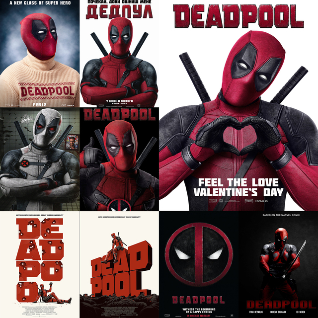 Deadpool Valentines Day Poster Love Pictures Www Picturesboss Com