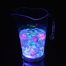 Multi-Colors LED illuminated tankard Champagne wine beer jar led holder cooler lamp for bars,nightclubs and party