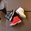 Children's Shoes Осень Зима Плюс Хлопок Сапоги Для Детей Мальчиков Girlls Водонепроницаемый Снега Сапоги для Мальчиков Baby Shoes Малышей теплый