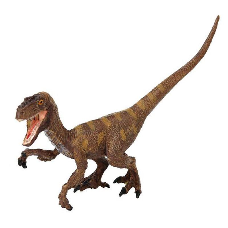 Starz Jurassic World Park Velociraptor Utahraptor Plastic Dinosaur Toys Model Action Figures