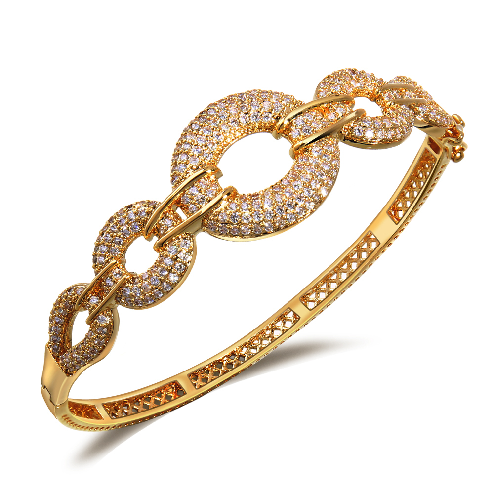 f518d2b0ef1 White Gold Plated Fashion Bangle Luxury Hollow Design indian bangles  fashion jewelry Free shipping-in Bangles from Jewelry & Accessories on  Aliexpress.com ...