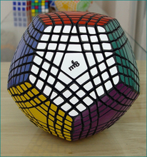 Magic Cube Puzzle 7*7*7 черный куб конкурс Куб Головоломка Развивающие игрушки для детей