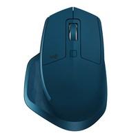 Logitech MX Master 2 S, правый, лазерный, РЧ беспроводной, 1000 dpi, синий