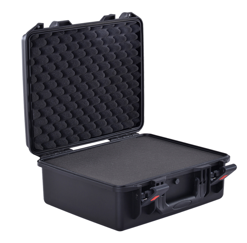 Brief outward high quality waterproof plastic carry case for Electronic equipments equipments for solid waste processing