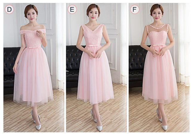 Online Shop short light pink elegant illusion neckline tulle womens ... ecf6dd4438f7
