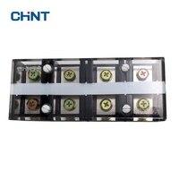 Chnt 구리 TC-1004 고정 고전류 터미널 블록 4 p 100a 4 비트 터미널 블록 팝 소켓 커넥터