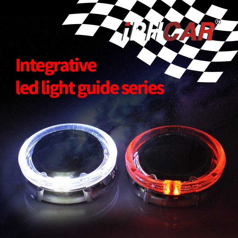 Iphone Car Auto voiture style Hid projecteur lentille Shroud pour Q5 Hella Bosch 3 pouces projecteur lentille haute température résistant masque livraison gratuite