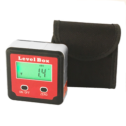 360 Degree protractor angle finder level box digital inclinometer angle measuring tool  with magnetic base Portable