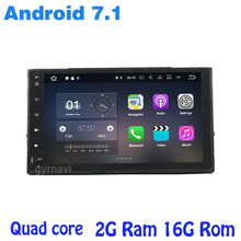 Android 7.1 Quad core Car radio gps player for toyota Fortuner 2016-2017 with radio wifi 4G usb bluetooth mirror link Stereo