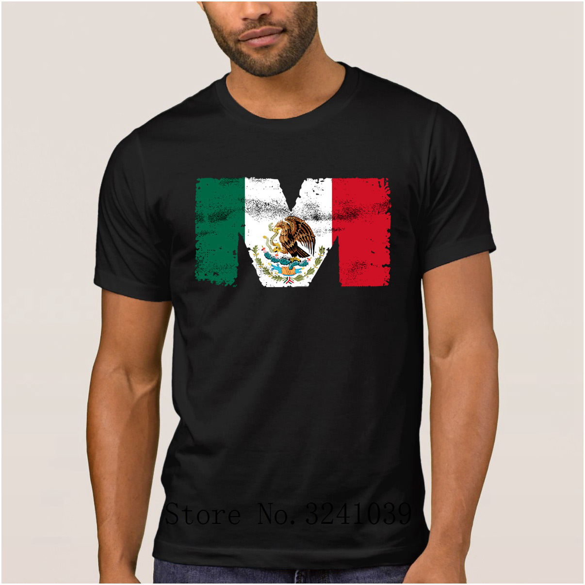 Mexico Vintage Coat of Arms Shortsleeve Tee