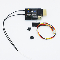 1pcs FrSky X4RSB 3/16 Channel Telemetry Receiver Remote Telemetry For RC Helicopter Quadcopter Part RC Toy Accessary
