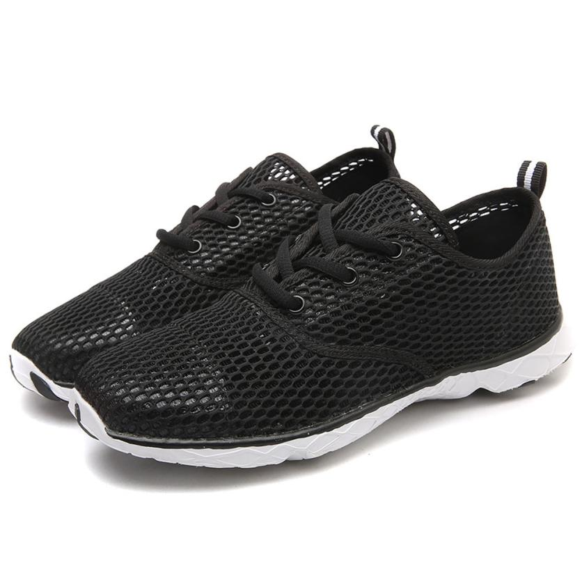 2018  Men Outdoor Breathable Quick-Drying Sports Water Shoes Hollow Aqua Water Shoes 0725