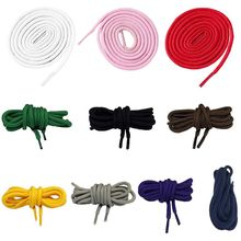 80cm Polyester Round Shoelaces Universal Colorful Sweet Candy Color Runners Athletes Shoe Strings Accessories 10 Colors