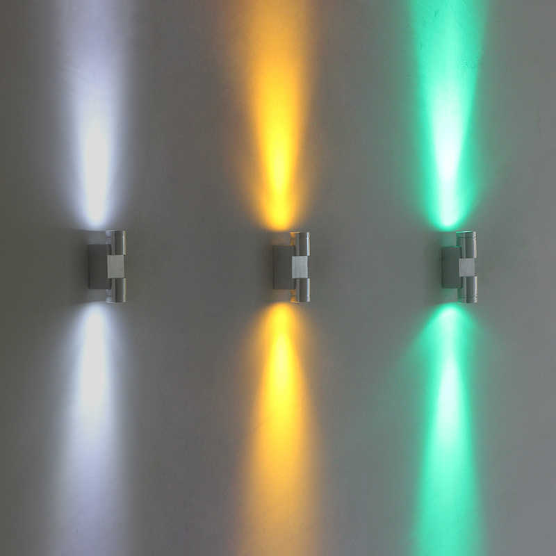 Modern 2W LED wall Lamp Wall-Mounted LED Sconce for Indoor Lighting Fixtures stairs loft bedroom