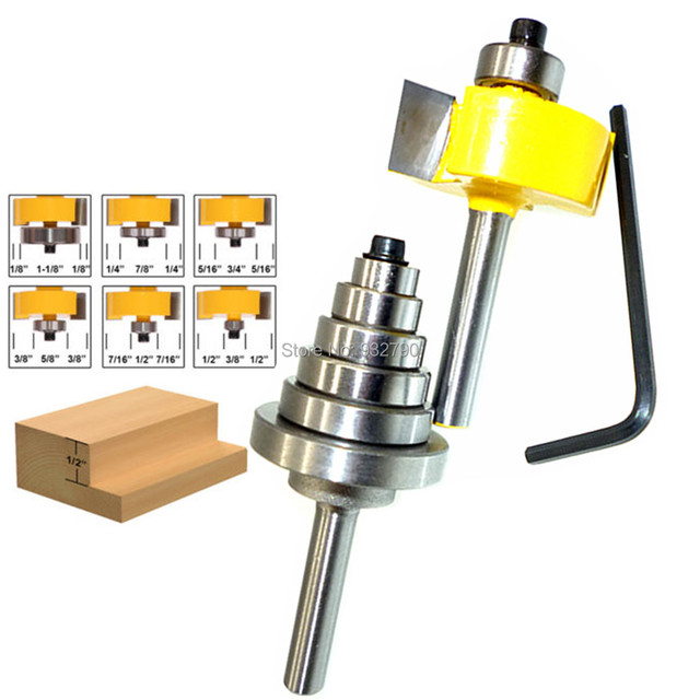 Rabbet Router Bit