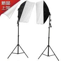 Adearstudio Single Lamp Softbox 2m Stands Portraitist Clothes Studier Set Photography Light Set