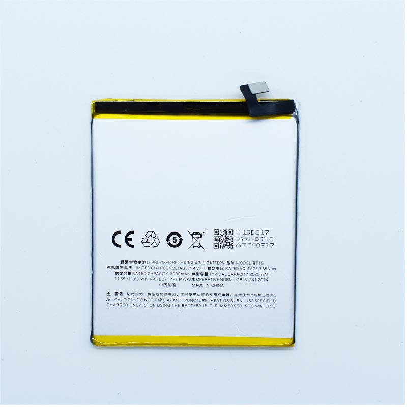 Hekiy Phone Battery For Meizu M3s Mobile Phone Rechargeable Baterai BT15 3020mAh Internal Accessories Replacement Parts M3 S