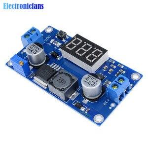 Image 4 - DC DC XL6009 Digital Boost Step Up Power Supply Module Adjustable 4.5 32V to 5 52V Step up Voltage Regulator With LED Voltmeter
