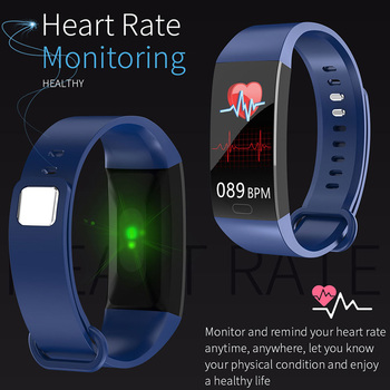 2019 Smart Bracelet Men Women Blood Pressure Measurement Smart Wristband Waterproof Heart Rate Fitness Tracker Smart Band Watch 1