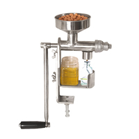 Manual Oil Press Machine Household Oil Extractor Expeller Peanut Nuts Seeds Oil Presser HY 03