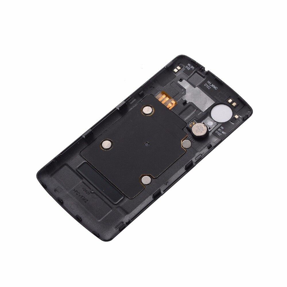 New For LG Nexus 5 D820 <font><b>D821</b></font> Back <font><b>Battery</b></font> cover For LG Nexus 5 D820 <font><b>Battery</b></font> Door Cover Back Housing + NFC Antenna