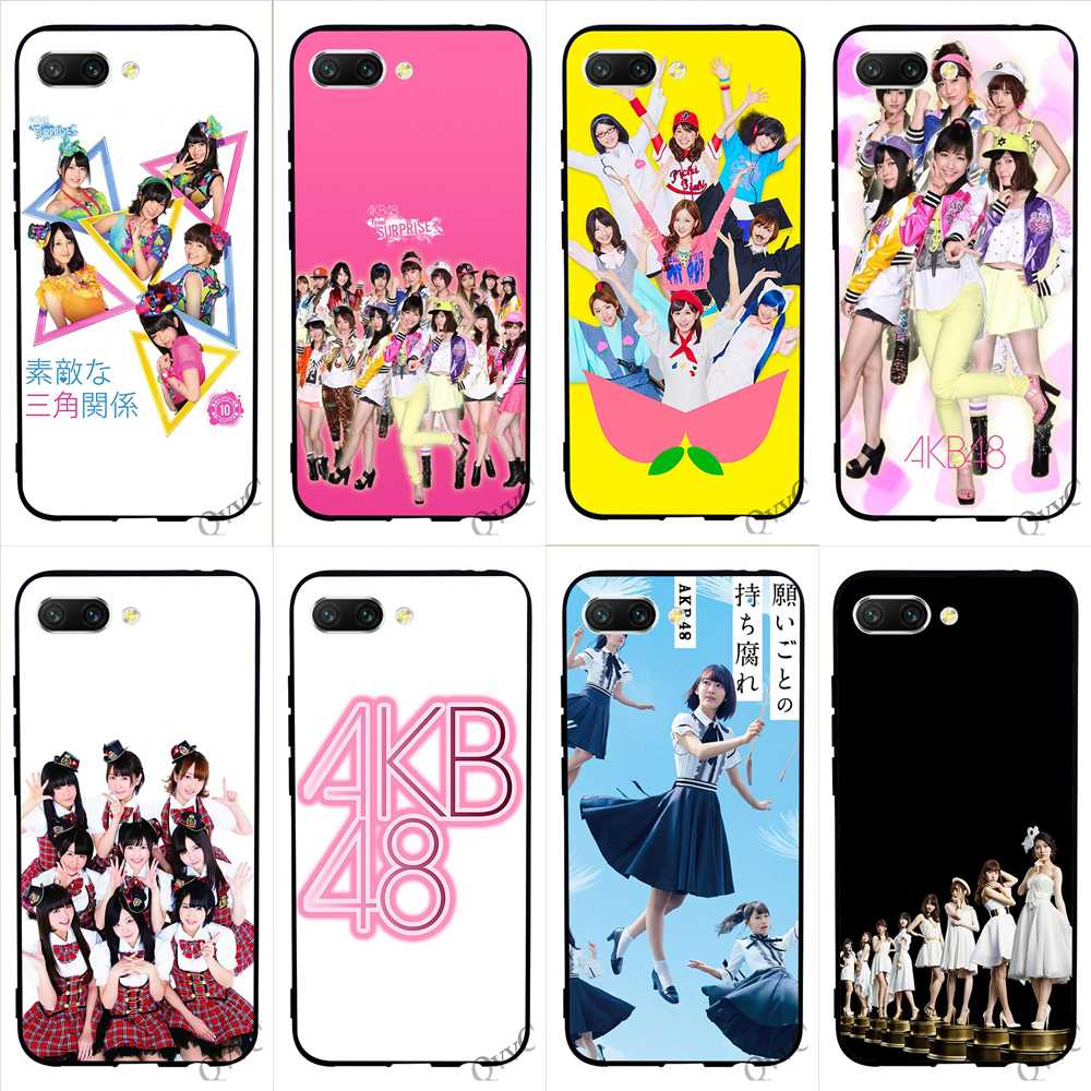 Protective AKB48 Phone Cover for Huawei Honor 7A Pro Case 6A 10 8 9 Lite 7X 7C Y6 Prime Nova 3i 3 Soft in Fitted Cases from Cellphones Telecommunications