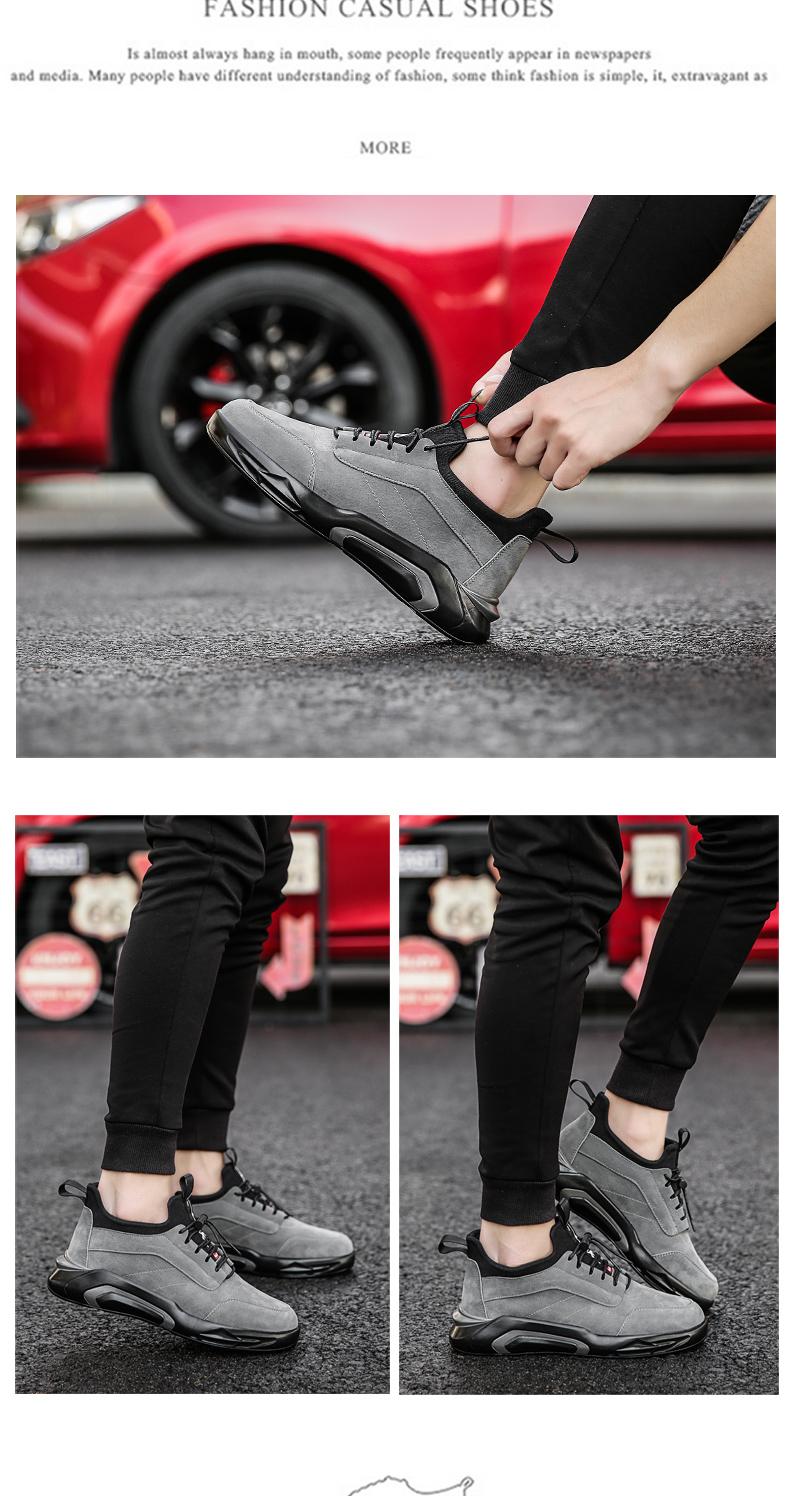 2018 Spring/Autumn Men's Vulcanize Shoes Fashion Sneakers Men Casual Shoes Flats Men Shoes Chaussure Homme Designer Sneakers 13