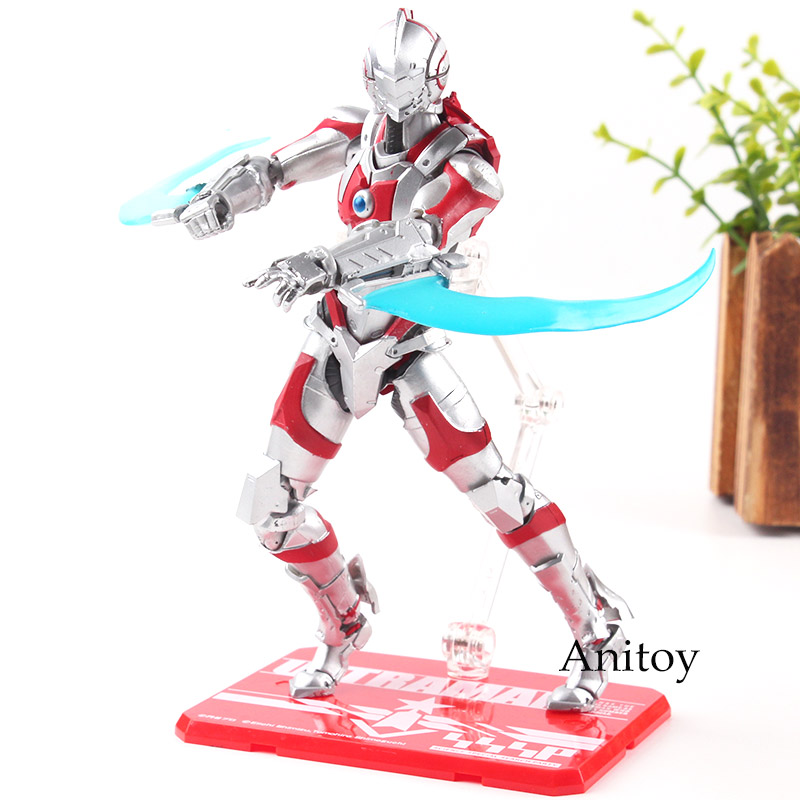 Hearty Shfiguarts Ultraman Variant Special Version Hayata Shinjiro Shf Figuarts Pvc Action Figure Toy Brinquedos Gift For Kids Toys & Hobbies