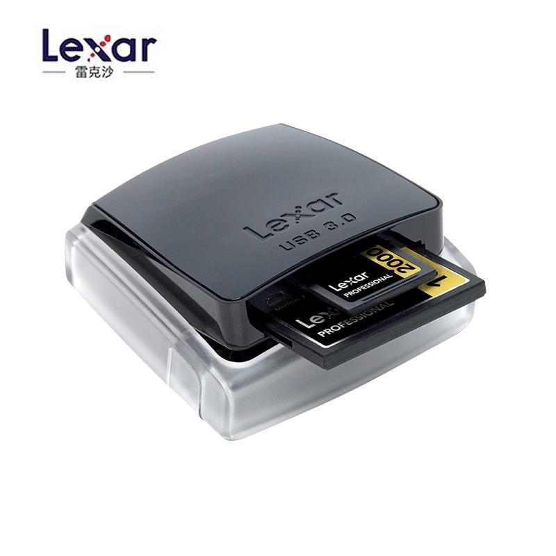 Lexar Professional 2 dans 1 Haute-vitesse USB 3.0 Dual-Slot Reader Pour Sd Carte/Compact Flash lecteur de Carte Mémoire CF
