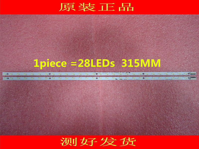2pieces/lot V500HK1-LS5 LED Strip V500H1-LS5-TLEM4 V500H1-LS5-TREM4  28LEDs  315MM