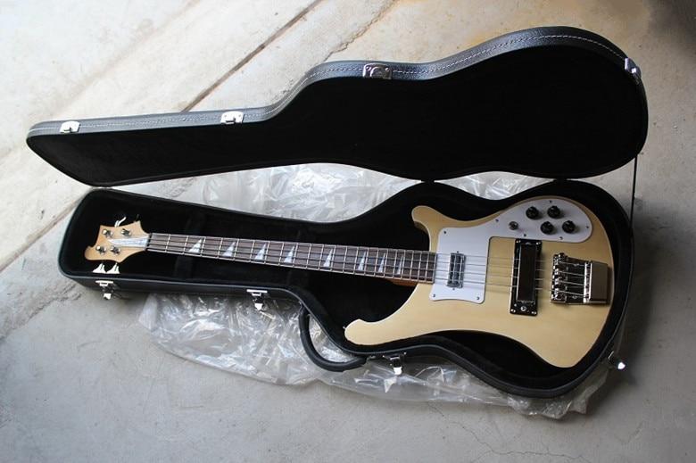 Free Hard Case*** Rickenback custom 4003 firglo 4 strings bass guitar burlywood ricken bass