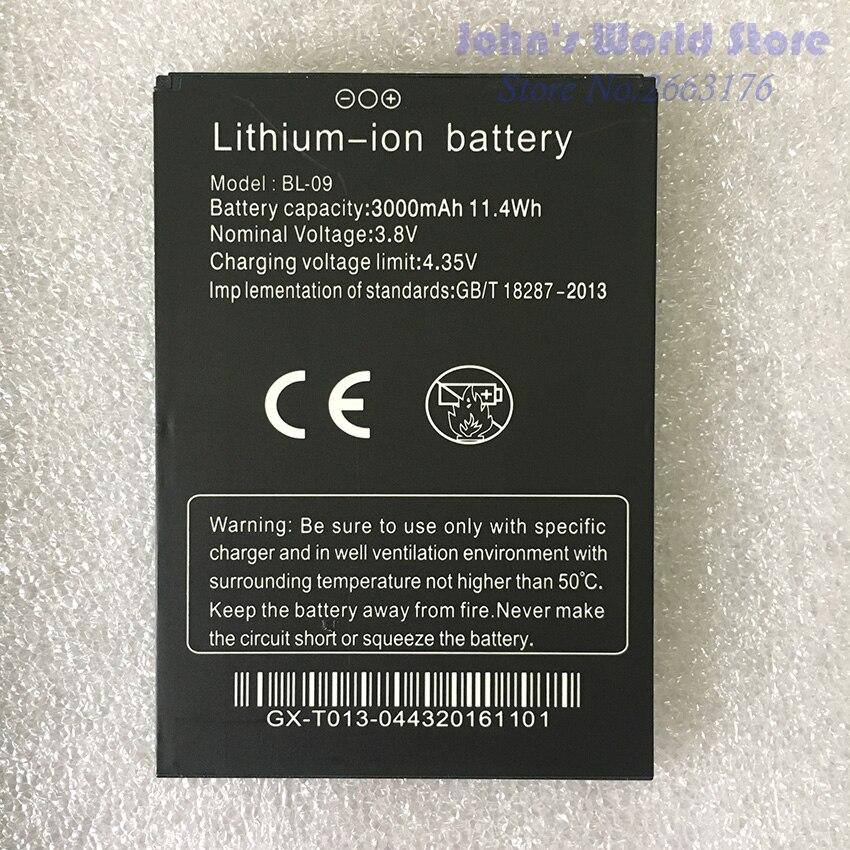 100% ursprüngliche THL T9 Pro Batterie 3000 mAh Batterie BL-09 für THL T9 plus Smartphone Ersatz Handys