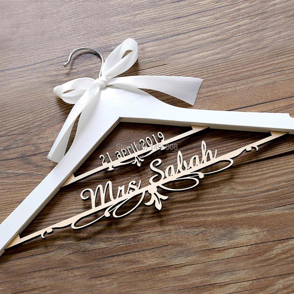 Brown Bridal Hanger Wedding Hanger Wedding Dress Hanger Bridal Hanger Mrs Hanger Bridal Shower Gift Gift Gifts Gifts Bridal Showerhanger Wedding Aliexpress