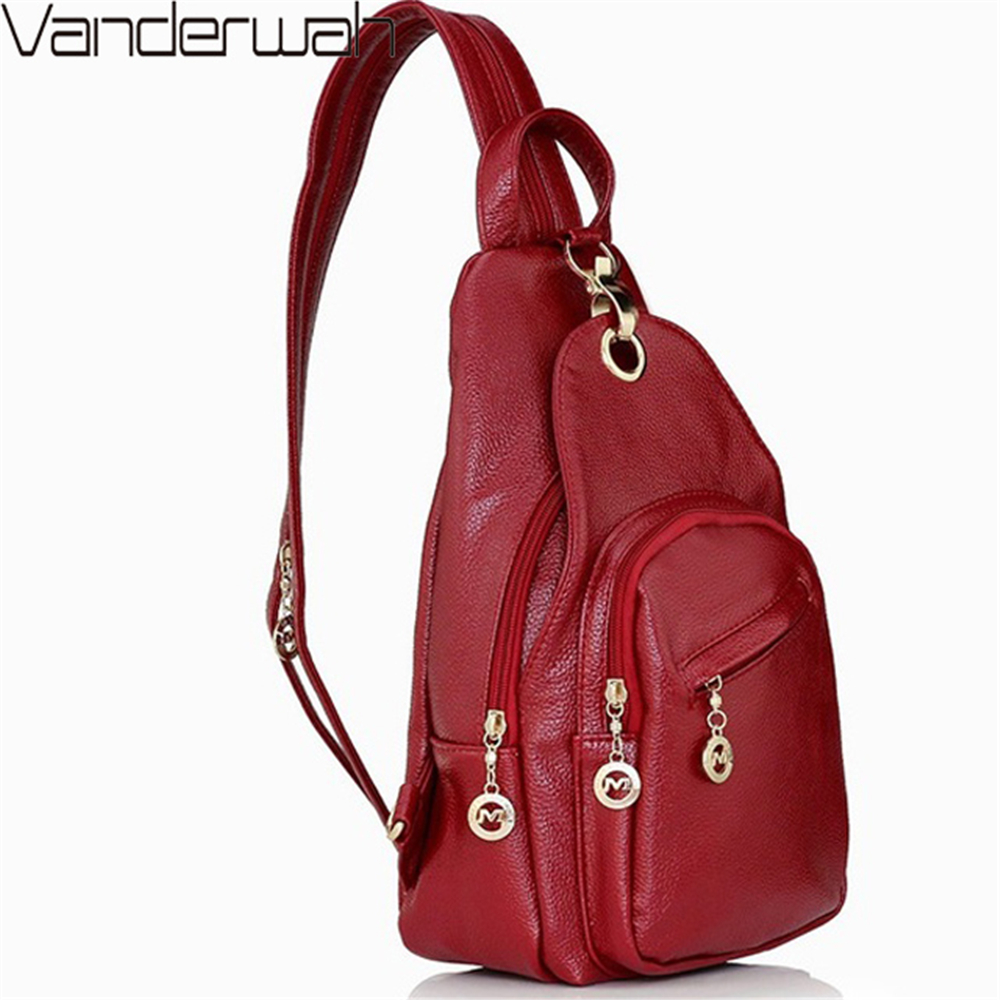 3-in-1 2019 Back Pack High Quality Leather Backpack Women Chest Bag College Wine School Bags For Teenage Girls Mochila Feminina 3-in-1 2019 Back Pack High Quality Leather Backpack Women Chest Bag College Wine School Bags For Teenage Girls Mochila Feminina