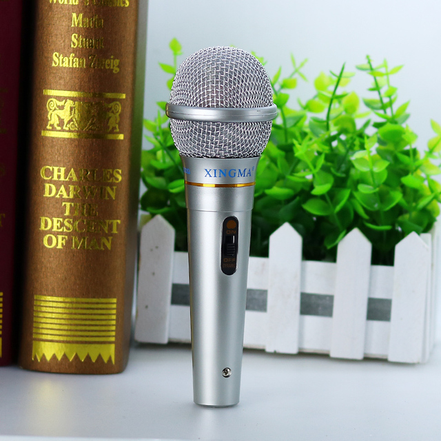 Karaoke Microphone studio For Singing system Party KTV Amplifier Dynamic Microphone Professional Wired Handheld