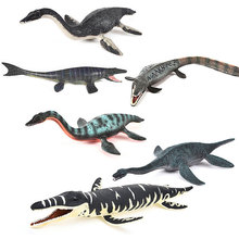 Fast shipping marine dinosaurs Mosasaurus Jurassic world animal model action figures PVC educational toy