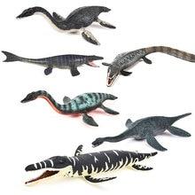 New Marine dinosaurs Mosasaurus Jurassic world dinosaurs animal model action figures PVC Boy Educational Toy
