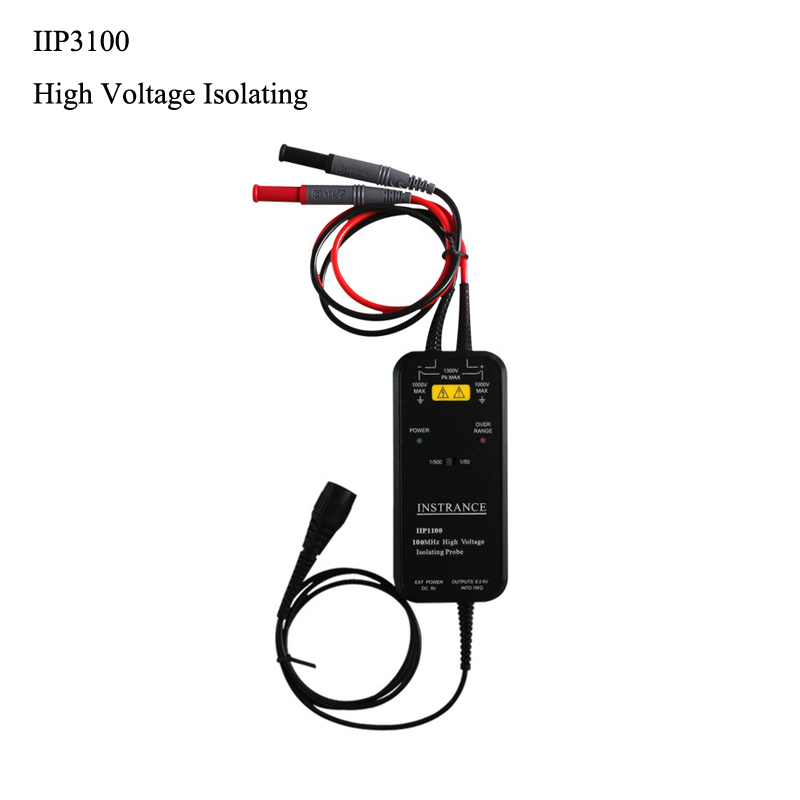 Oscilloscope probe ICP5100 High Voltage Isolating Probes 5600v High Voltage Isolated Differential Probe 50mhz 100mhz in Oscilloscope Parts Accessories from Tools