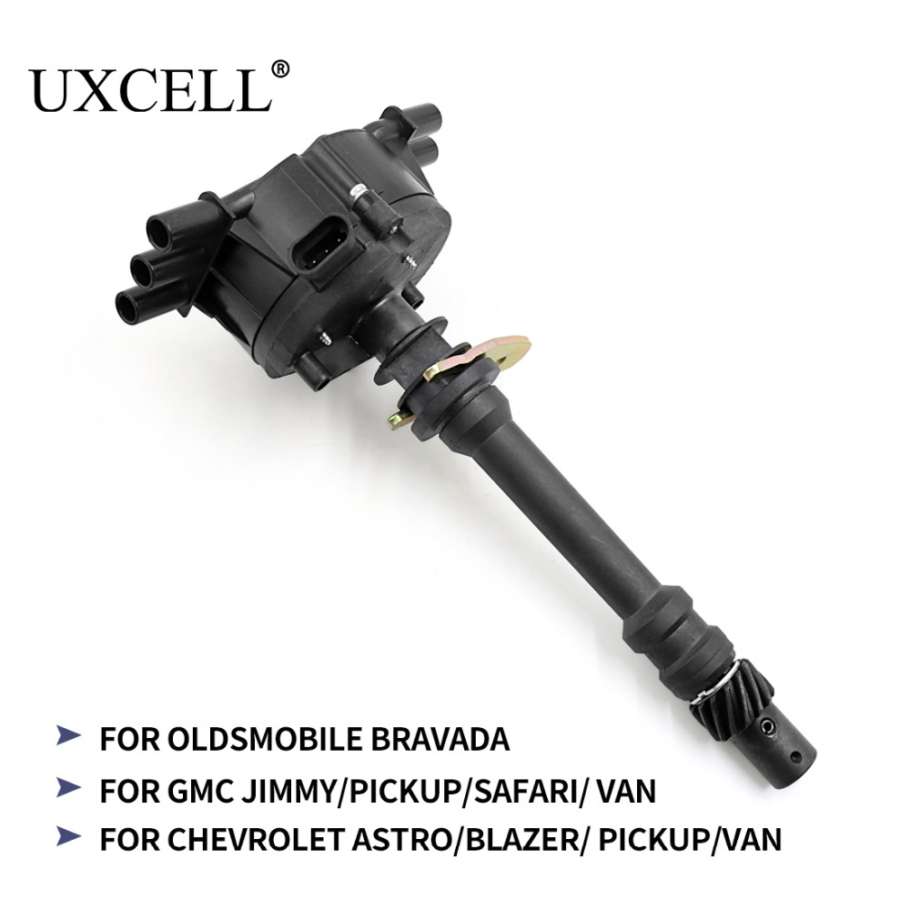 UXCELL 12570426 93441559 Ignition Distributor For Chevrolet Astro VAN Blazer For GMC Jimmy Safari Sierra Savana For Oldsmobile