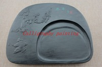 10 Plum Blossom Ink Grinding Stone She Inkstone Calligraphy Painting Sumi e