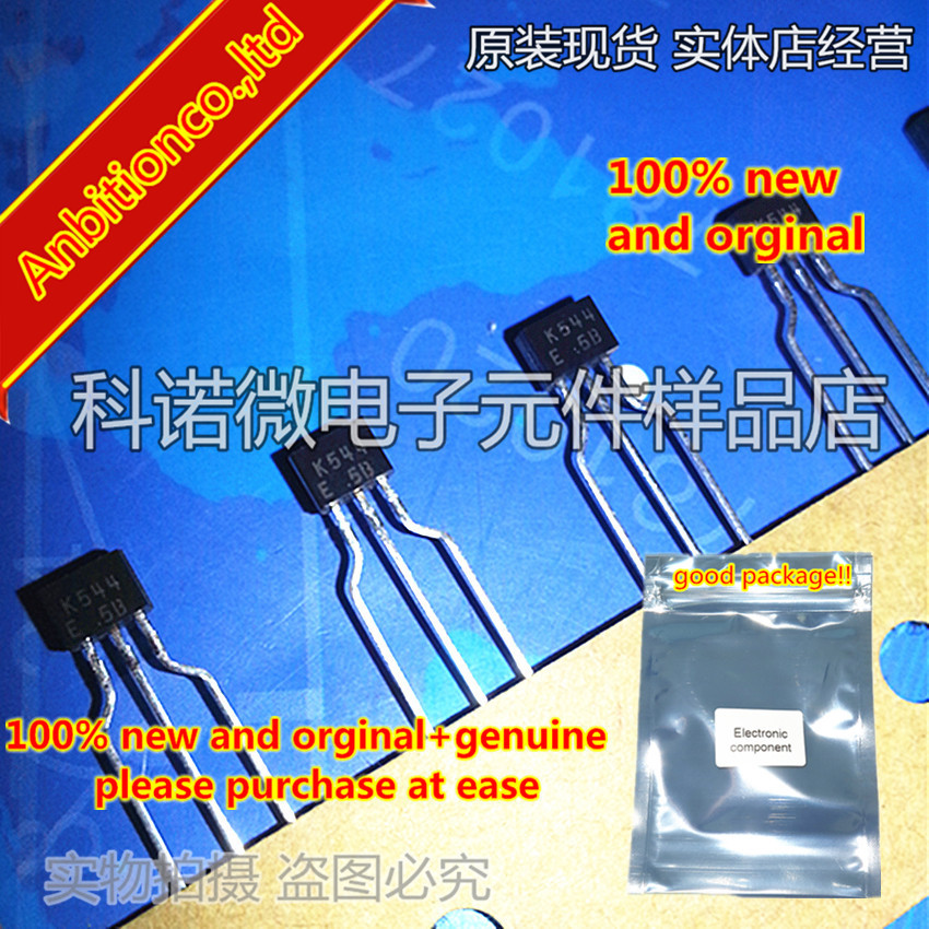 10pcs 100% New And Orginal 2SK544 K544-E K544-F TO-92S In Stock