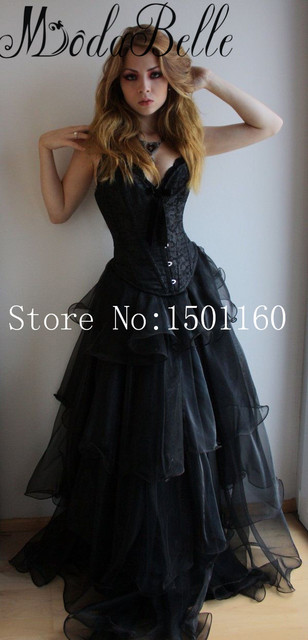 90d4f6c920 Real Photo Sweetheart Masquerade Dresses Off Shoulder Vestidos De Baile Prom  Dresses Ruffles Floor Length Gothic