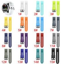 Новый Quick Release Easy Fit силиконовые замена часы ремешок для 26 мм Garmin D2 Чарли/спуск Mk1 @ 649 SD998