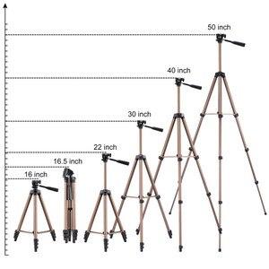Image 4 - Treppiede portatile universale treppiede leggero per telefono cellulare treppiede professionale per SmartPhone Canon Sony Nikon