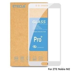 Image 2 - 2 pièces pour ZTE Nubia M2 verre trempé sur ZTE Nubia M2 Lite verre Nubia M2lite protecteur décran 0.26mm 9h verre de dureté